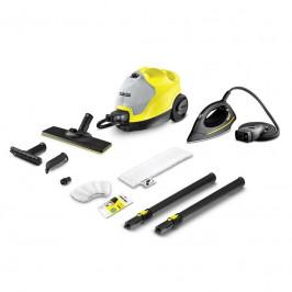 Parný čistič Kärcher SC 4 EasyFix Iron Kit žlt... Parní čistič SC 4 EasyFix s parní žehličkou se postará jak o dokonale vyžehlené prádlo, tak čistou d