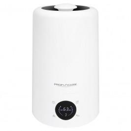 Zvlhčovač vzduchu ProfiCare PC-LB 3077 biely... S ultrazvukovou technologií pro optimální vlhkost vzduchu, vhodné pro místnosti až do velikosti 50-60