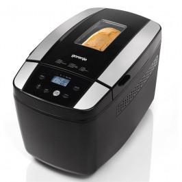 Domáca pekáreň Gorenje Bm1210bk čierna... Příkon 800 W, 2 velikosti chleba, kontrolní průzor, 12 programů, funkce udržování teploty, nastavení zhnědnu