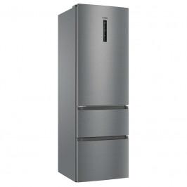 Kombinácia chladničky s mrazničkou Haier Afe735chj Titanium...