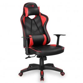 Herná stolička Connect IT LeMans Pro čierna/červená (CGC-0700-RD...
