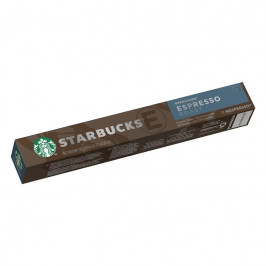 Kapsule pre espressa Starbucks NC Espresso Roast 10Caps... Kávové kapsle kompatibilní s kávovary NESPRESSO®, 10 kapslí.