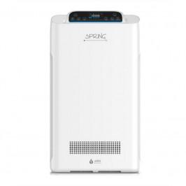 Čistička vzduchu Airbi Spring biela... Sedminásobný filtrační systém, senzor kvality ovzduší, noční režim, časovač, dětský zámek, generátor záporných