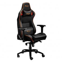Herná stolička Canyon Corax čierna/oranžová (CND-Sgch5...