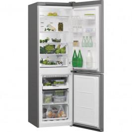 Kombinácia chladničky s mrazničkou Whirlpool W7 821O OX nerez...