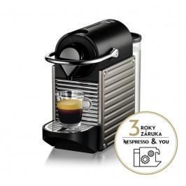Espresso Krups Nespresso Pixie Titan XN304T10... Kompaktní design, tlak 19 barů, energeticky úsporný kávovar.