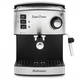 Espresso Rohnson R-980 strieborn...