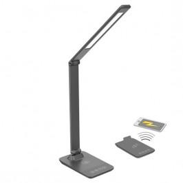 Stolná lampa Solight stmívatelná, 10W, bezdrátové nabíjení telefonu...