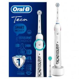 Zubná kefka Oral-B Teens... Zubní kartáček pro dospívající, Bluetooth pro propojení s mobilní aplikací, 3 čistící programy, vizuální a zvukový senzor
