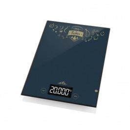 Kuchynská váha ETA Farmer 4777 90000 čierna... Digitálna kuchynská váha s extra veľkou vážiacou plochou 20,5 x 24 cm, s veľmi vysokou kapacitou váhy a