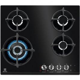 Plynová varná platňa  Electrolux Kgg6438k čierna... + dárek