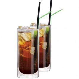 Termopohár Maxxo Cuba Libre 400 ml... Unikátní dvojstěnné termo sklenice o objemu 400 ml jsou ručně vyrobeny z borosilikátového skla. Borosilikátové s