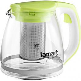 Konvička Lamart Verre 1,1 l (LT7026... Skleněná čajová konvice o objemu 1,1 l s vyjímatelným nerezovým sítkem je ideální pro přípravu všech typů čajů,