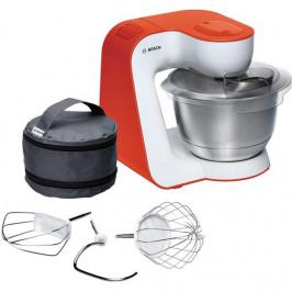 Kuchynský robot Bosch StartLine Mum54i00 biely/oranžov... Ideální kuchyňský robot v trendy barvách včetně velmi kvalitního příslušenství pro přípravu