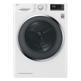 Sušička bielizne LG Rc91u2av2w biela... + dárek Úsporná sušička prádla v en.třídě A+++ s kapacitou 9 kg prádla. Program pro alergiky, který redukuje a
