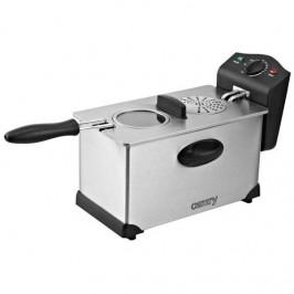 Fritéza Camry CR4909 nerez... Kapacita 3l, vyjímatelná nádoba na olej, termostat.