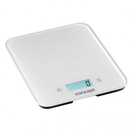 Kuchynská váha Concept VK5711 biela... Digitální kuchyňská váha s funkcí hodin, minutky a budíku. Maximální nosnost 15 kg.