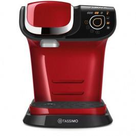 Espresso Bosch Tassimo My Way TAS6003 červen... Patentovaná technologie INTELLIBREW™: přístroj sám rozezná a uvaří nápoj podle údajů, které si načte z
