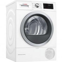 Sušička bielizne Bosch Wtw876wby biela... Kondenzační sušička s tepelným čerpadlem a s kapacitou 8 kg prádla v en. třídě A+++, samočisticí kondenzátor