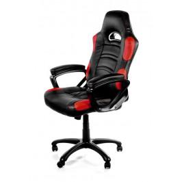 Herná stolička Arozzi Enzo čierna/červená (Enzo-RD...
