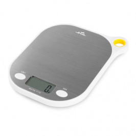 Kuchynská váha ETA Grami 3777 90000 biela/nerez... Ultra tenká digitálna váha ETA Grami na domáce pečenie v praktickom nerezovom dizajne, nastaviteľná