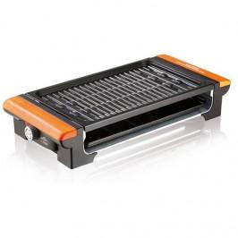 Gril  ETA Vital 1162 90000 čierny/oranžov... Elektrický gril ETA Vital vám privolá letnú pohodu kedykoľvek. Má dve vymeniteľné dosky (kameň a zliatinu