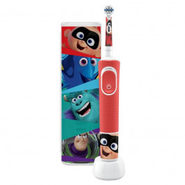 Zubná kefka Oral-B Vitality Kids Pixar + cestovní pouzdro... + dárek S cestovním pouzdrem, vhodný pro děti od 3 let, 2D systém čištění zubů, mobilní a