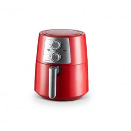 Fritéza teplovzdušná Delimano AIR Fryer PRO RED... Bez oleje, ale stále lahodně křupavé, nyní s větším objemem, červená.