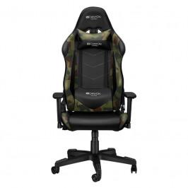 Herná stolička Canyon Argama čierna/zelená (CND-Sgch4ao...
