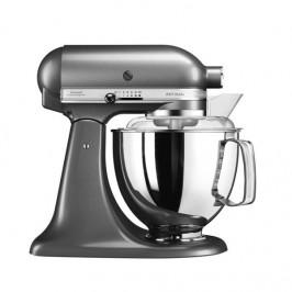 Kuchynský robot KitchenAid Artisan 5Ksm175psems siv... Multifunkční kuchyňský robot, celokovová konstrukce, planetární systém mixování, nerezová mísa