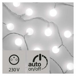 Vianočné osvetlenie Emos 40 LED světelný řetěz – kuličky 2,5cm, 4m,...
