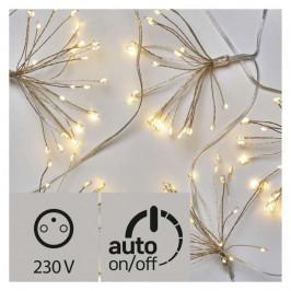Vianočné osvetlenie Emos 150 LED, girlanda –  nano svítící trsy,...