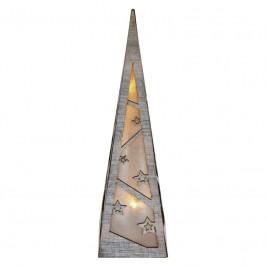 LED dekorace  Emos pyramida, 36cm, 2× AA, teplá bílá, časovač...