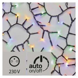 Vianočné osvetlenie Emos 200 LED, řetěz – ježek, venkovní, 4m,...