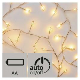 Vianočné osvetlenie Emos 100 LED, nano řetěz – ježek, 2,4m,...