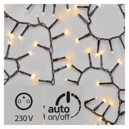 Vianočné osvetlenie Emos 400 LED, řetěz – ježek, 8m, teplá bílá,...