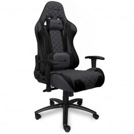 Herná stolička Connect IT Monaco Pro čierna/sivá (CGC-1200-GY...
