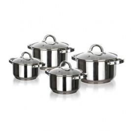 Sada hrncov Banquet Swing 48727028... Nerez, snadná údržba, mytí v myčce nádobí.