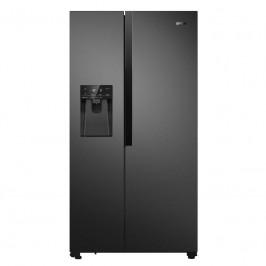 Americká chladnička Gorenje Nrs9182vb čierna...