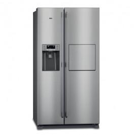 Americká chladnička AEG Rmb66111nx nerez...