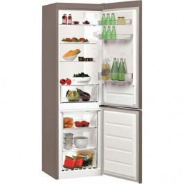 Kombinácia chladničky s mrazničkou Indesit LI8 S1 X nerez... Lednice Indesit v energetické třídě A+ s objemem chladničky 228 l/ mrazničky 111 l. Hlučn