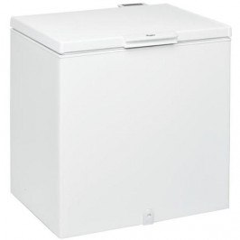 Mraznička Whirlpool WHS 2121 biela... Pultová mraznička v energetické třídě A+ s užitným objemem 204 l