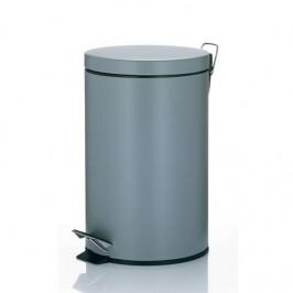 Odpadkový kôš Kela Leandro 12 l... Kovový nášlapný 12 litrový koš v elegantním světle šedém matném provedení, praktická součást Vaší kuchyně nebo koup