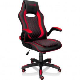 Herná stolička Connect IT Matrix Pro čierna/červená (CGC-0600-RD...