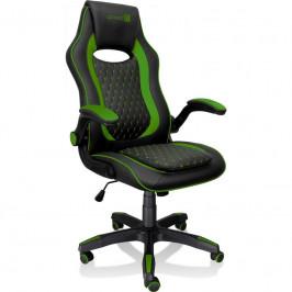 Herná stolička Connect IT Matrix Pro čierna/zelená (CGC-0600-GR...