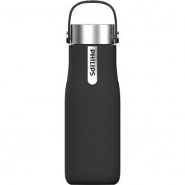 Filtračná fľaša Philips GoZero Awp2787bk/10 čierna... Představujeme samočisticí chytrou lahev.