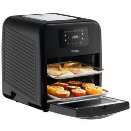 Fritéza teplovzdušná Tefal FW501815 Easy Fry Oven & Grill  čierna... Zdravá horkovzdušná fritéza, 9v1, 7 doplňků, 11 l, kontrola teploty, snadné čiště