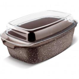 Pekáč Lamart LT1155 Marble... Bezpečný materiál, rychlé a rovnoměrné vaření na základě rychlého přenesení tepla.