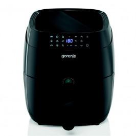Fritéza teplovzdušná Gorenje Af1409db čierna... Přehledný LCD displej, 9 přednastavených programů, XL nádoba o objemu 3,5 litru, nastavitelná teplota