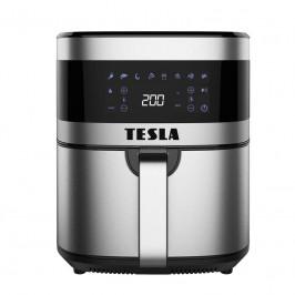 Fritéza teplovzdušná Tesla AirCook Q60 XL čierna... Multifunkční digitální, 8 přednastavených programů s technologií Heat2Flow, velký vyjímatelný koš